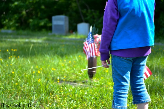 Memorial Day Child