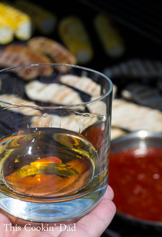 four roses bourbon, bbq sauce