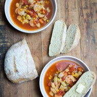 Manhattan Shrimp Chowder
