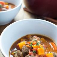 Venison & Butternut Squash Stew