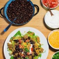 Weeknight Taco Salad Bar