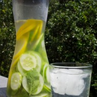 Cucumber, Lemon, & Mint Water