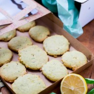 Cookie Swap: Lemon, Basil, Almond Sugar Cookies