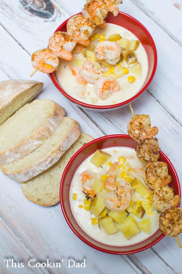 Shrimp and Corn Chowder-2