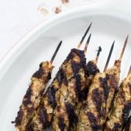 Grilled Lamb Skewers with Tzatziki