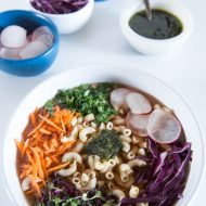 Going Green with Vegetable Soup